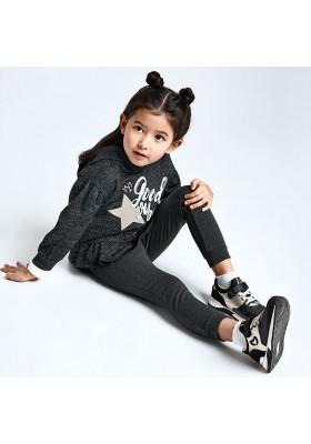 Chandal felpa lurex niña de Mayoral modelo 4826