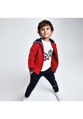 Chandal 2 pantalones canguro capucha niño de Mayoral modelo 4814