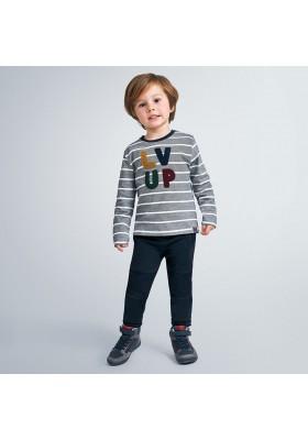 Pantalon felpa combinado niño de Mayoral modelo 4543