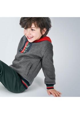 Sudadera capucha combinada niño de Mayoral modelo 4463