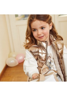 Chaleco reversible niña de Mayoral modelo 4352