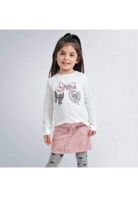 Camiseta manga larga grafica niña de Mayoral modelo 4068