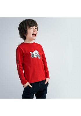 Set 2 camisetas manga larga lisas niño de Mayoral modelo 4047