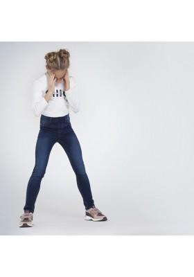 Pantalon cerrado tejano basic Niña de Mayoral modelo 578