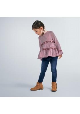 Pantalon cerrado tejano basic niña de Mayoral modelo 577