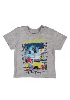 camiseta manga corta BOBOLI bebe niño