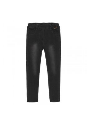 Pantalón felpa elástica de niña Boboli modelo 490014