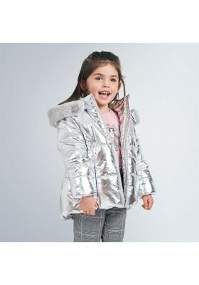 Abrigo metalizado niña de Mayoral modelo 4419