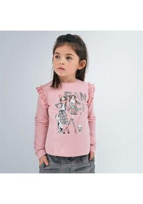 Camiseta manga larga muñecas niña de Mayoral modelo 4062