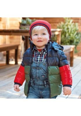 Abrigo acolchado bloques Bebe niño de Mayoral modelo 2483