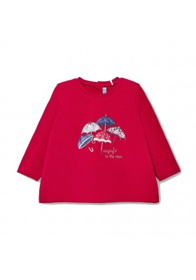 Camiseta manga larga bebe niña de Mayoral modelo 2059