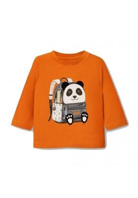 Camiseta manga larga mochila Bebe niño de Mayoral modelo 2042