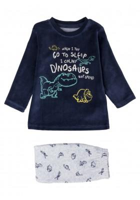 pijama de tundosado con printde Losan para niño modelo 025-P001AL