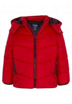 parka con capucha desmontablede Losan para niño modelo 025-2650AL