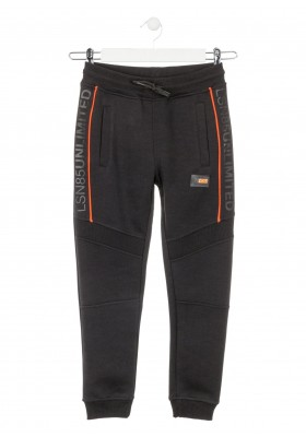 pantalon de interlockde Losan para niño modelo 023-6020AL