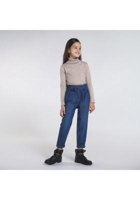Pantalon slouchy tejano Niña de Mayoral modelo 7538