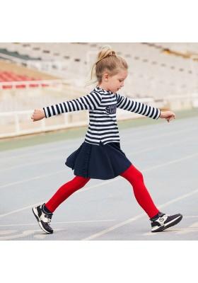 Vestido invierno rayas combinadas niña de Mayoral modelo 4985