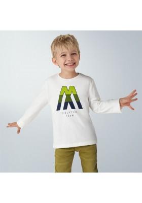 "Camiseta manga larga ""m"" niño de Mayoral modelo 4040"