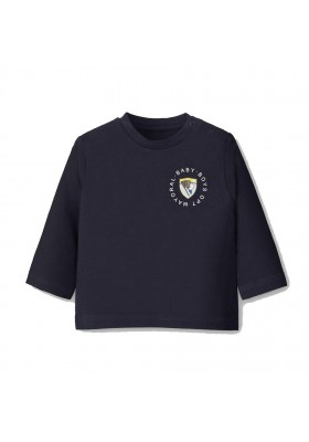 Camiseta manga larga escudo Bebe niño de Mayoral modelo 2036