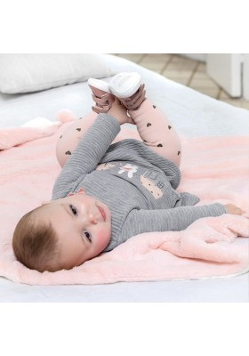 Vestido acolchado de Mayoral bebe niña modelo 2875