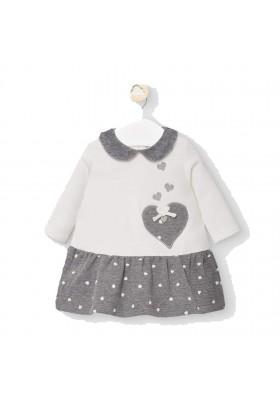 Vestido falda de Mayoral bebe niña modelo 2854