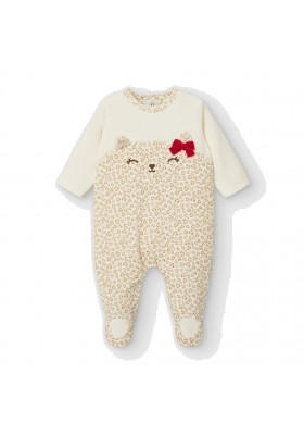 Pijama tundosado de Mayoral bebe niña modelo 2759