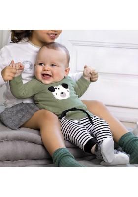 Conjunto 4 piezas felpa de Mayoral bebe niño modelo 2639