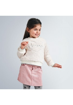 Falda pana brillo niña de Mayoral modelo 4959