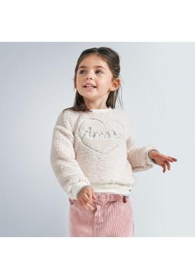 Sudadera borreguito niña de Mayoral modelo 4402