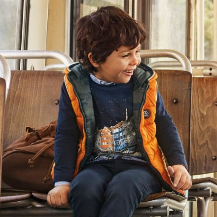 Chaleco acolchado reversible niño de Mayoral modelo 4336