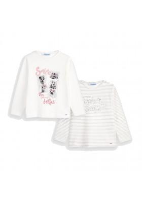 Set 2 camisetas manga larga niña de Mayoral modelo 4066