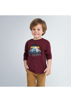 "Camiseta manga larga ""peak"" niño de Mayoral modelo 4055"