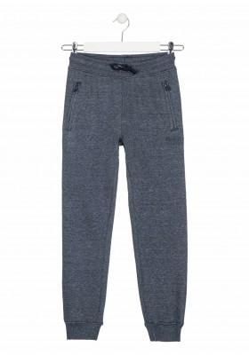 pantalon de felpa perchadade Losan para niño modelo 023-6022AL