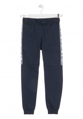 pantalon de felpa perchadade Losan para niño modelo 023-6021AL