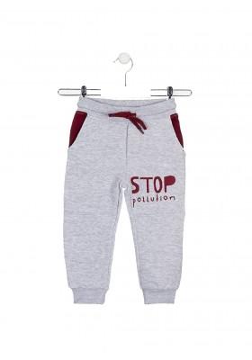 pantalon de felpa perchadade Losan para niño modelo 025-6024AL