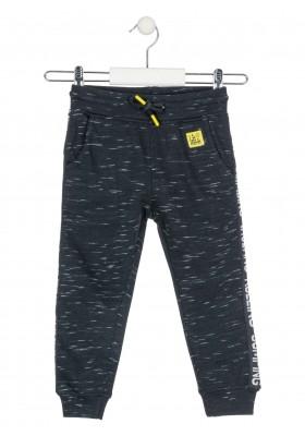 pantalon felpa con cintas lateralesde Losan para niño modelo 025-6015AL