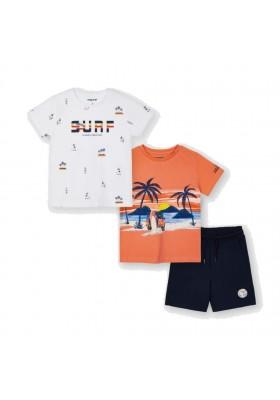 Conjunto punto 2 camisetas Mayoral para niño modelo 3641