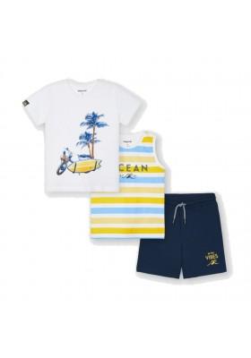 Conjunto punto 2 camisetas Mayoral para niño modelo 3639
