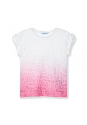 Camiseta manga corta tye dye Mayoral para niña modelo 3017