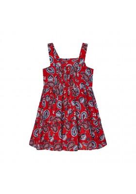 Vestido estampado Mayoral para niña modelo 3947