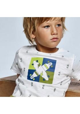 Camiseta manga corta estampada Mayoral para niño modelo 3041