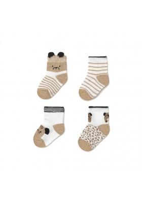 Set 4 calcetines de Mayoral para bebe niño modelo 9360