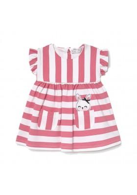 Vestido punto de Mayoral para bebe niña modelo 1812