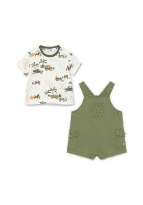 Conjunto peto con camiseta de Mayoral para bebe niño modelo 1656