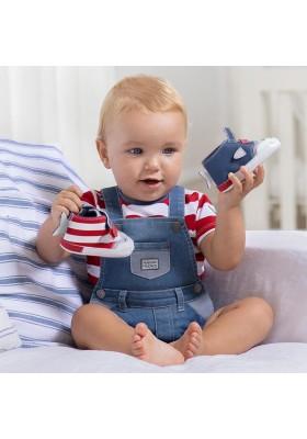 Conjunto peto tejano de Mayoral para bebe niño modelo 1655