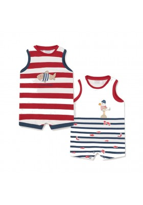 Set 2 peleles m/s de Mayoral para bebe niño modelo 1651