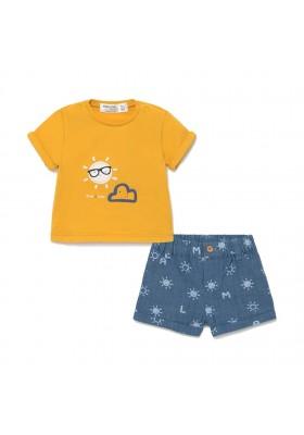 Conjunto pantalon corto de Mayoral para bebe niño modelo 1205