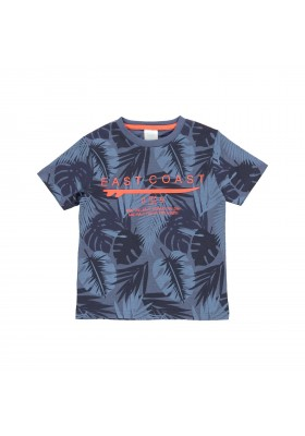 """Camiseta punto """"hojas"""" de niño Boboli modelo 522087"""