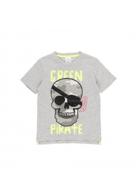 "Camiseta punto ""calaveras"" de niño Boboli modelo 512019"
