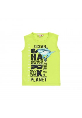 """Camiseta punto """"sharks"""" de niño Boboli modelo 832171"""